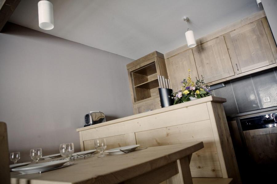 Skiverleih Résidence les Grandes Feignes - La Bresse - Küche