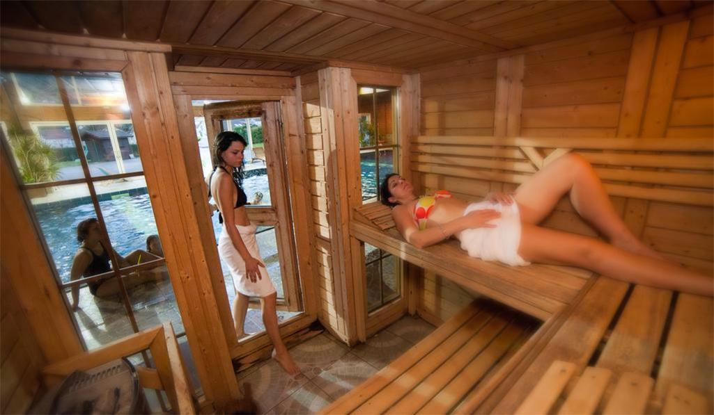Location au ski Résidence les Vallées - La Bresse - Sauna