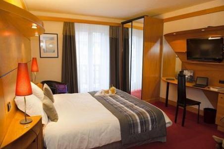 Location au ski Chambre double - Hotel Les Vallees - La Bresse - Chambre