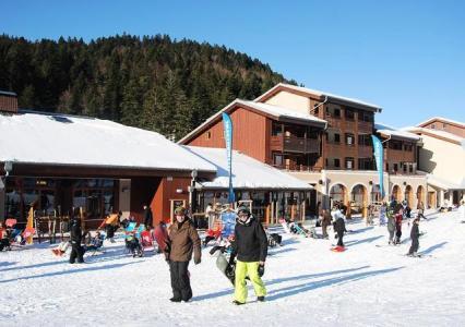 Location au ski Residence Grandes Feignes - La Bresse - Extérieur hiver