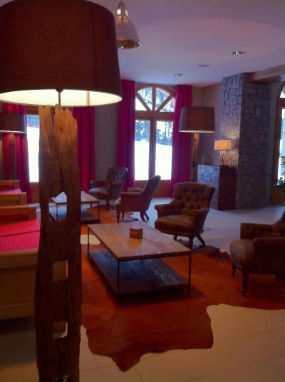 Location au ski Résidence les Grandes Feignes - La Bresse - Réception