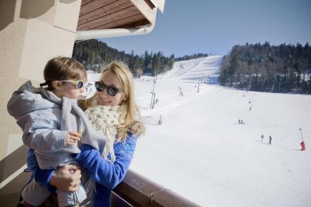 Location au ski Residence Les Grandes Feignes - La Bresse - Balcon