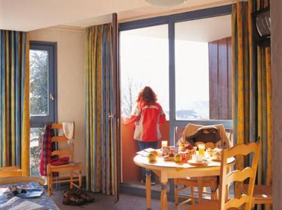 Location au ski Appartement 2 pièces 4 personnes - Residence Les Vallees - La Bresse - Séjour