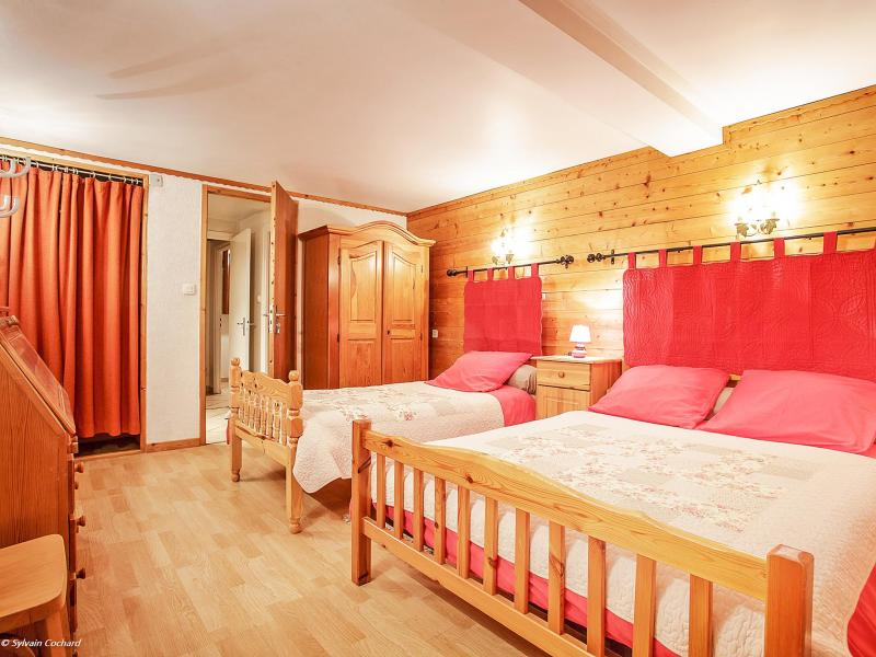 Rent in ski resort Chalet de la Chapelle - La Chapelle d'Abondance - Double bed