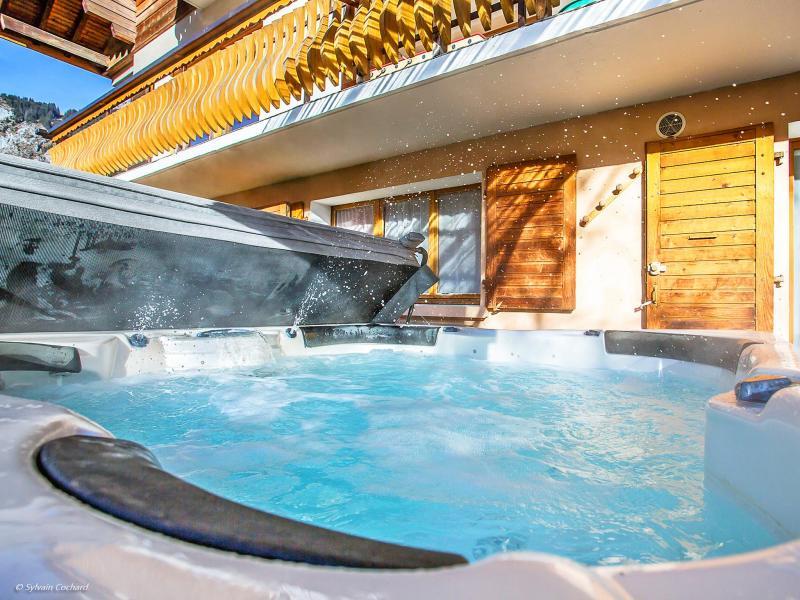 Аренда на лыжном курорте Chalet de la Chapelle - La Chapelle d'Abondance - Джакуззи