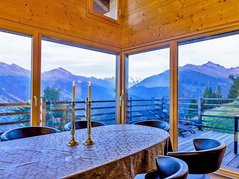 Location au ski Chalet de la Chapelle - La Chapelle d'Abondance - Table