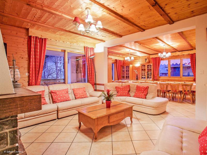 Location au ski Chalet de la Chapelle - La Chapelle d'Abondance - Table basse