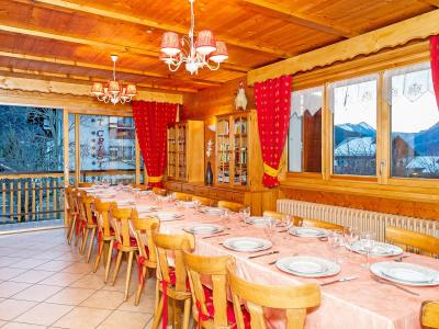 Rent in ski resort Chalet de la Chapelle - La Chapelle d'Abondance - Dining area