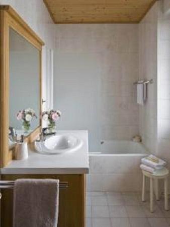 Location au ski Hotel Le Christiania - La Clusaz - Salle de bains