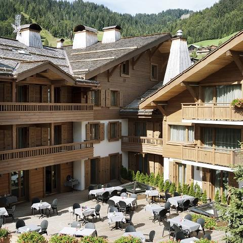 Rent in ski resort Hôtel Au Coeur du Village - La Clusaz - Plan