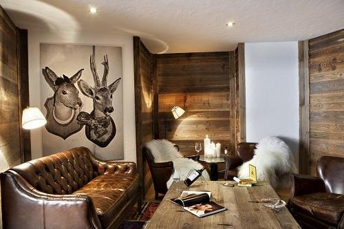 Rent in ski resort Hôtel Au Coeur du Village - La Clusaz - Loggia