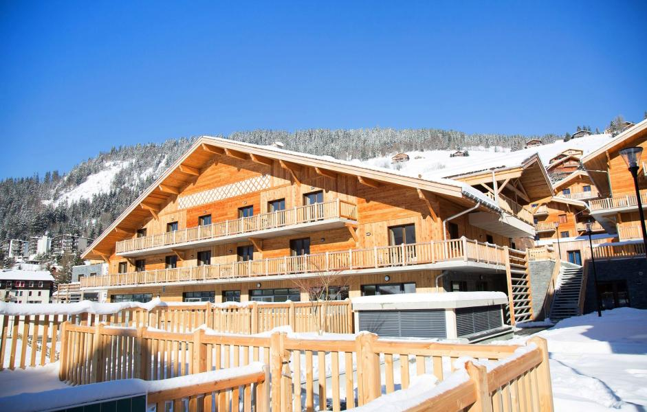 Location au ski Hôtel le Chamois - La Clusaz - Extérieur hiver
