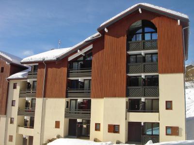 Rent in ski resort Combes Blanche 1 & 2 - La Clusaz - Winter outside