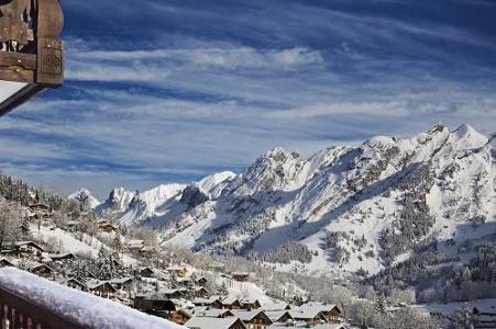 Location au ski Hotel Beauregard - La Clusaz - Extérieur hiver