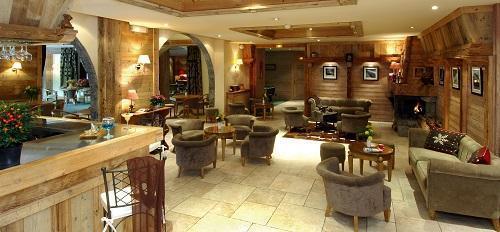 Location au ski Hotel Beauregard - La Clusaz - Intérieur