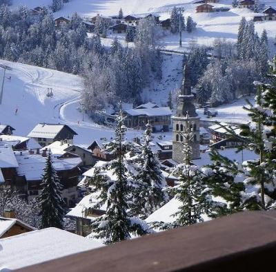 Location au ski Hotel Carlina - La Clusaz - Extérieur hiver