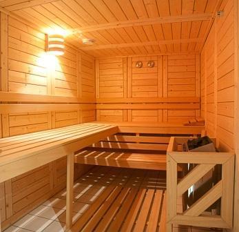 Rent in ski resort Residence Les Balcons D'aix - La Féclaz - Sauna