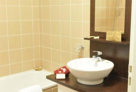 Location au ski Hotel Les Balcons D'aix - La Féclaz - Salle de bains