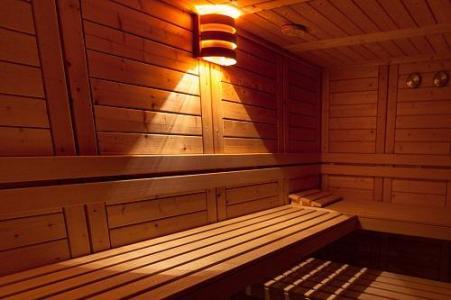 Location au ski Hotel Les Balcons D'aix - La Féclaz - Sauna