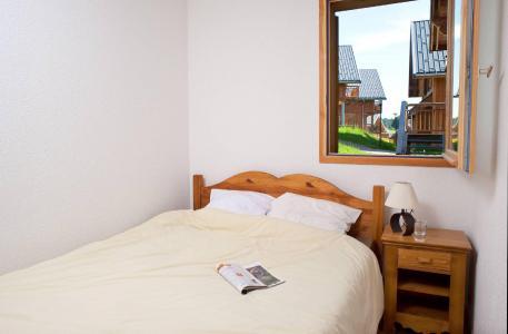 Аренда на лыжном курорте Les Chalets du Berger - La Féclaz - Двухспальная кровать