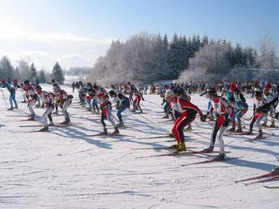 Location au ski Les Chalets Du Berger - La Féclaz - Extérieur hiver