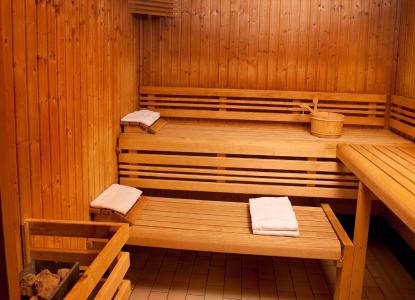 Location au ski Les Chalets Du Berger - La Féclaz - Sauna