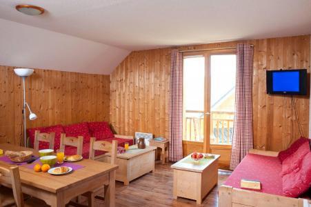 Location au ski Les Chalets du Berger - La Féclaz - Séjour