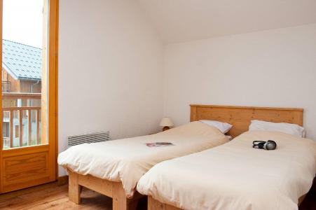 Аренда на лыжном курорте Les Chalets du Berger - La Féclaz - Односпальные кровати