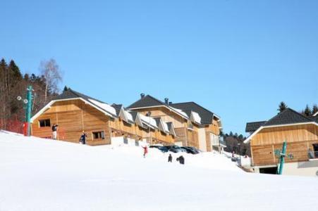 Location au ski Residence Les Balcons D'aix - La Féclaz - Extérieur hiver