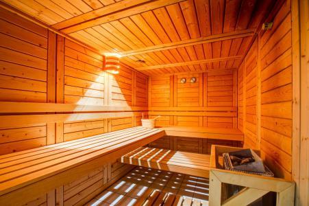 Rent in ski resort Résidence les Balcons d'Aix - La Féclaz - Sauna