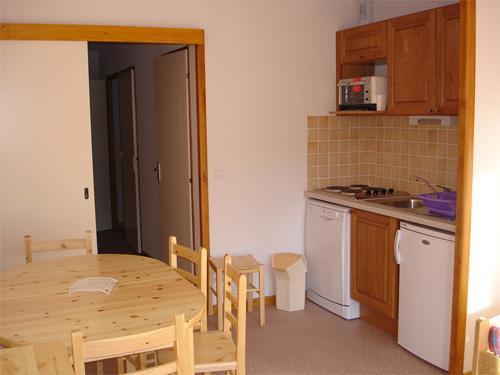Location au ski Appartement 3 pièces 8 personnes - Residence Horizon Blanc - La Joue du Loup - Séjour