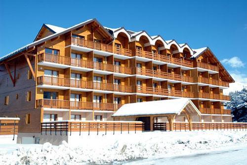 Ski en mars Residence Horizon Blanc