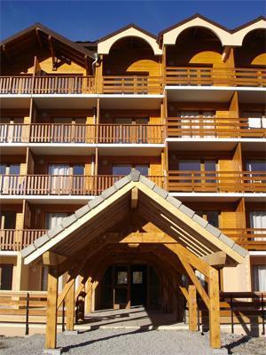 Location au ski Residence Horizon Blanc - La Joue du Loup - Intérieur