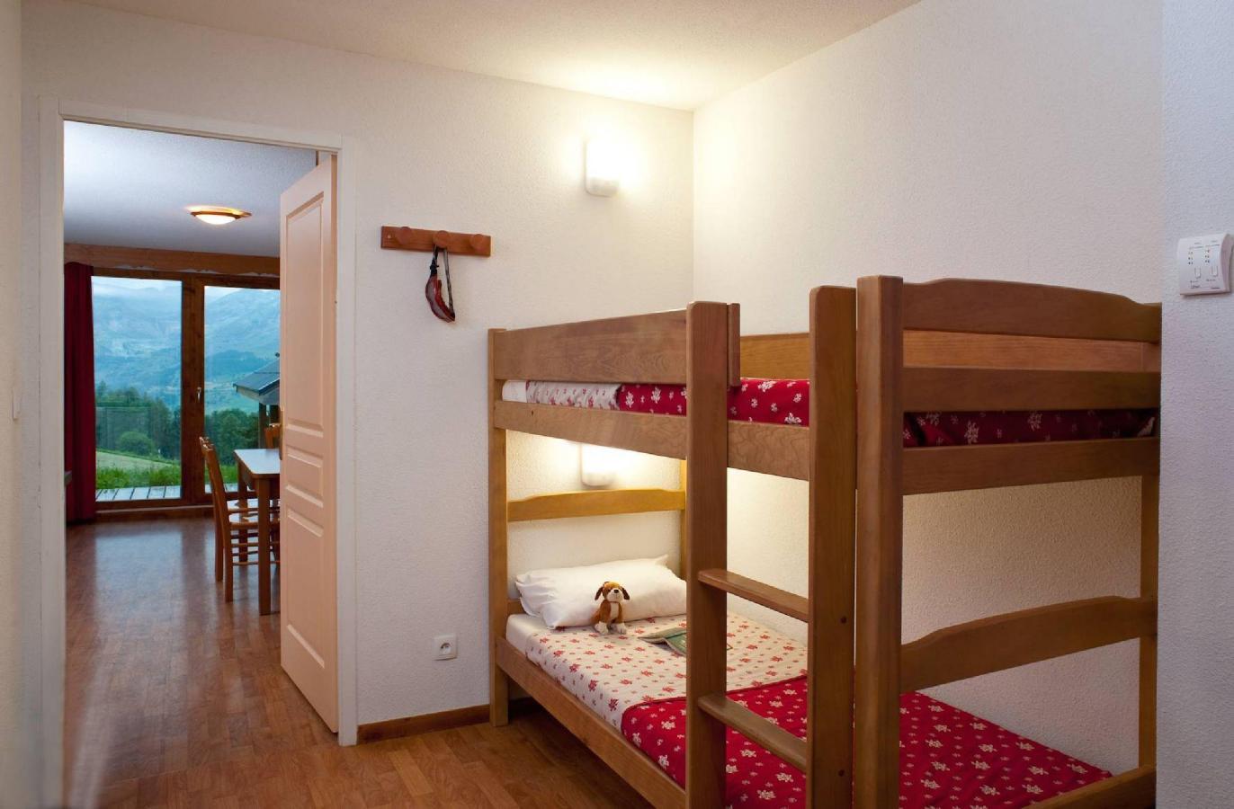 Location au ski Residence La Crete Du Berger - La Joue du Loup - Lits superposés