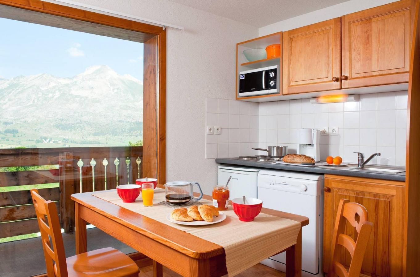 Location au ski Residence La Crete Du Berger - La Joue du Loup - Cuisine