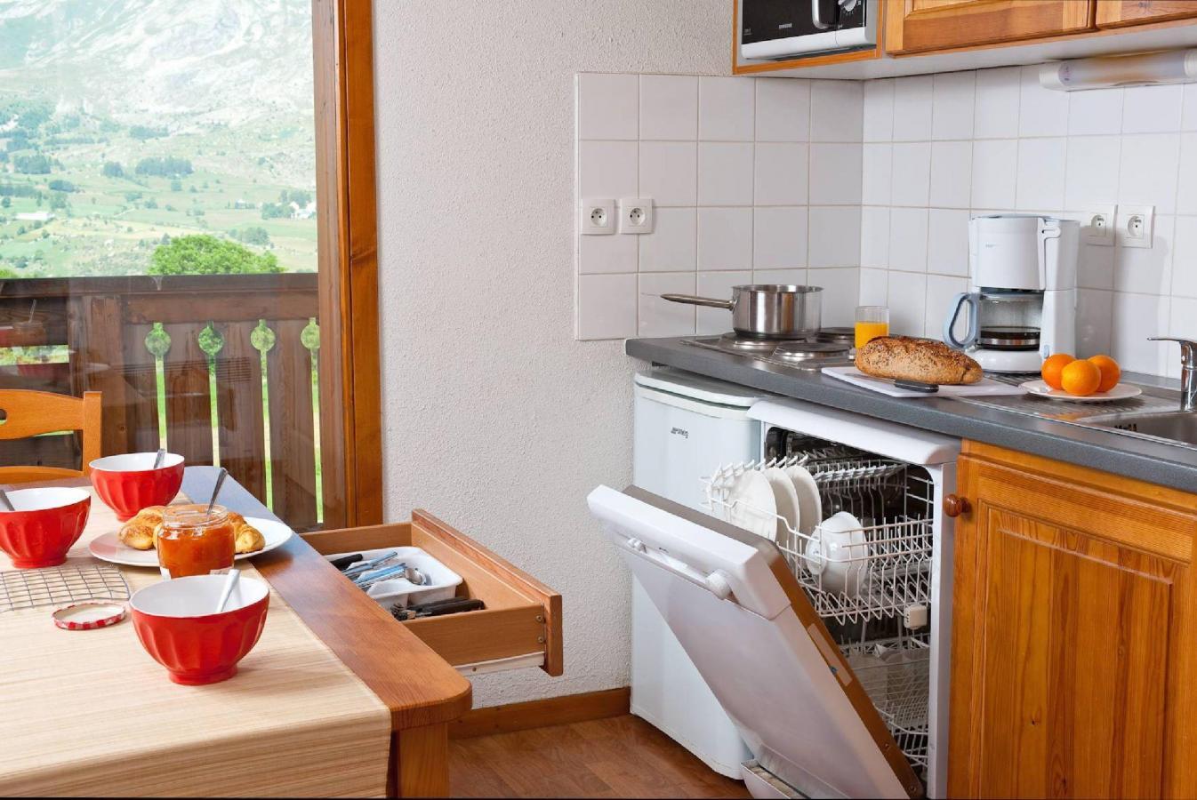 Location au ski Residence La Crete Du Berger - La Joue du Loup - Lave-vaisselle