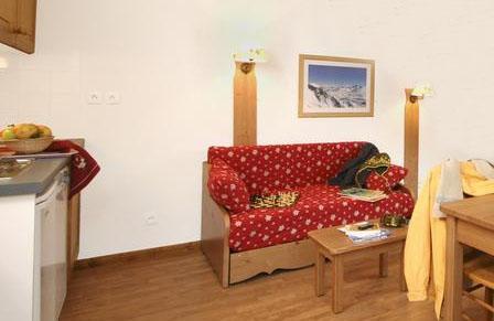 Location au ski Studio coin montagne 4 personnes (BAT) - Residence La Crete Du Berger - La Joue du Loup - Séjour