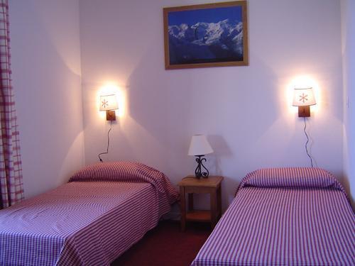 Location au ski Chalet mitoyen 4 pièces 8 personnes - Residence Les Flocons Du Soleil - La Joue du Loup - Lit simple