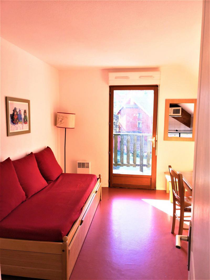 Rent in ski resort 2 room apartment 4 people (522) - Les Chalets d'Aurouze - La Joue du Loup - Living room