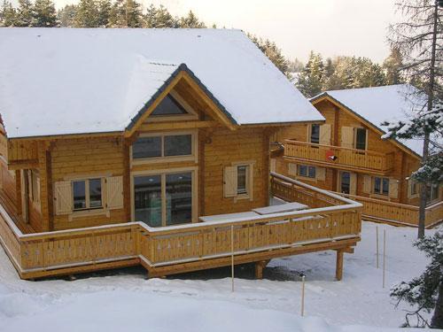 Vacances en montagne Chalet 7 pièces 14 personnes - Les Chalets de l'Eden - La Joue du Loup - Extérieur hiver