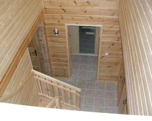 Location au ski Chalet 7 pièces 14 personnes - Les Chalets de l'Eden - La Joue du Loup - Escalier