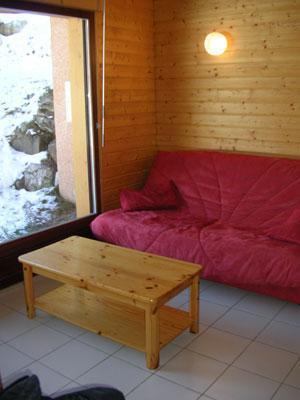 Location au ski Chalet 3 pièces 6 personnes - Les Chalets Du Prayau - La Joue du Loup - Canapé-lit
