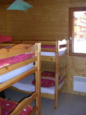 Location au ski Chalet 3 pièces 6 personnes - Les Chalets Du Prayau - La Joue du Loup - Lits superposés
