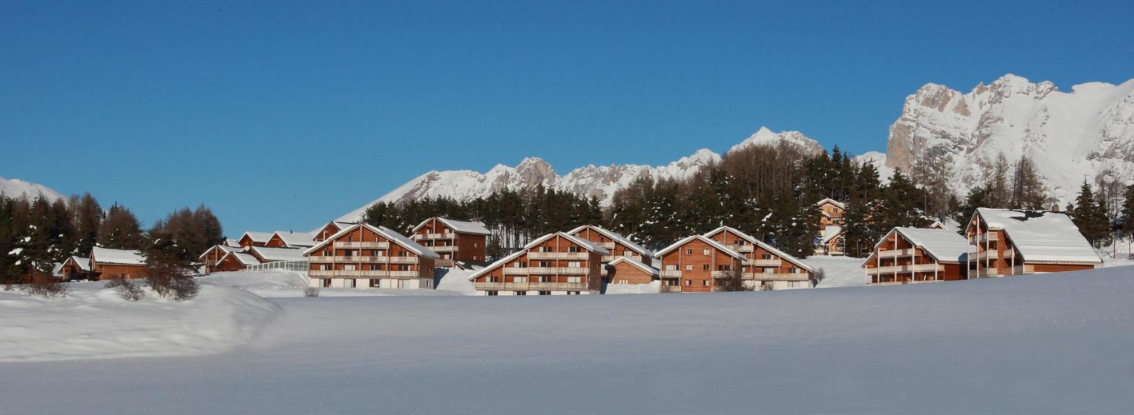 Wakacje w górach Résidence Bartavelle la Crête du Berger - La Joue du Loup - Zima na zewnątrz