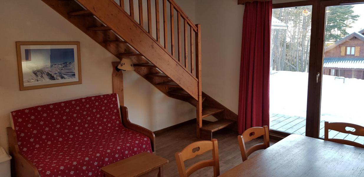Rent in ski resort Semi-detached 3 room chalet 8 people (B1) - Résidence Crête du Berger - La Joue du Loup