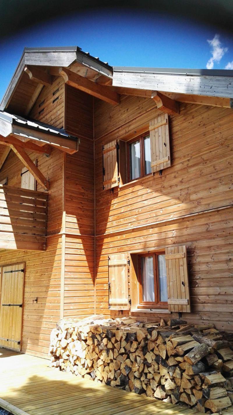 Rent in ski resort Semi-detached 3 room chalet 8 people (H2) - Résidence Crête du Berger - La Joue du Loup