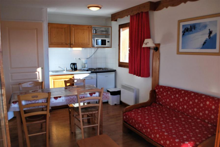 Rent in ski resort 2 room apartment sleeping corner 6 people (112) - Résidence Crête du Berger - La Joue du Loup