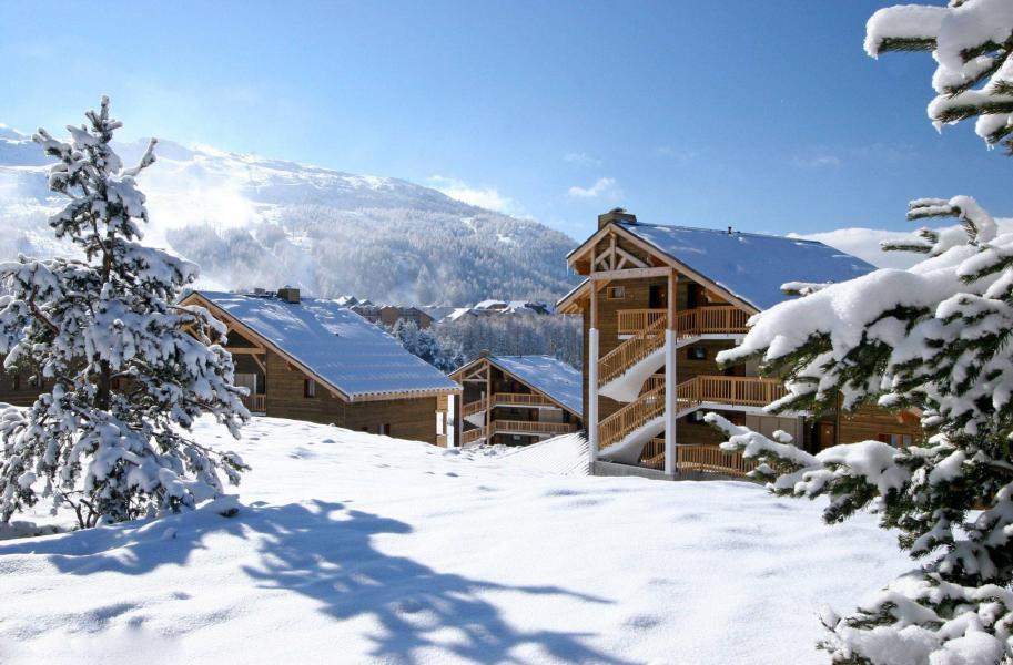 Vacances en montagne Résidence la Crête du Berger - La Joue du Loup - Extérieur hiver