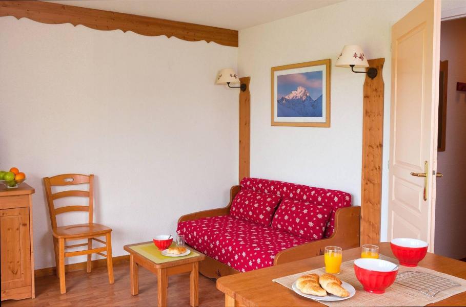 Location au ski Résidence la Crête du Berger - La Joue du Loup - Coin séjour