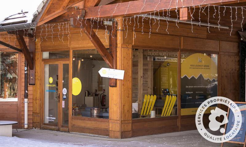 Vacances en montagne Résidence la Crête du Berger - Maeva Home - La Joue du Loup - Extérieur hiver